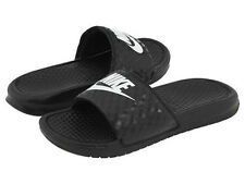 Nike Classic Women's Benassi JDI Slide in Black with White Logo in Sizes 5 to 12
