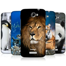 HEAD CASE WILDLIFE PROTECTIVE SNAP-ON HARD BACK CASE COVER FOR HTC ONE X