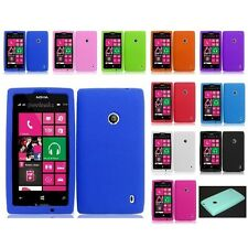 Soft Silicone Gel Rubber Skin Case Phone Cover For Nokia Lumia 521 Accessories