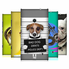 HEAD CASE FUNNY ANIMALS PROTECTIVE SNAP-ON BACK CASE COVER FOR NOKIA LUMIA 520