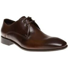 New Mens SOLE Brown Riot Leather Shoes Lace Up