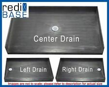 "Tile Redi 40"" x 60"" No Curb ADA Compliant Shower Base Pan with Drain #4060BF-PVC"