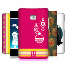 HEAD CASE DESIGNS MIX CHRISTMAS COLLECTION CASE COVER FOR LG OPTIMUS L3 E400