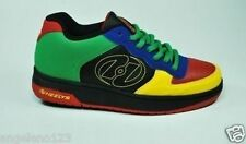 HEELYS Gelato Junior Skate Shoes Wheels Youth Size Big Boy Black Red Yellow 7242
