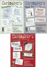 SENTIMENTS - HOTP - CARDMAKER'S CARD QUOTES - FRIENDSHIP, THANK YOU, CHRISTMAS