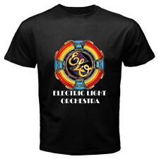 "New ELECTRIC LIGHT ORCHESTRA ""ELO"" Music Mens Black T-Shirt Size S-3XL"