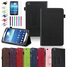 PU Leather Case Cover / Accessories For Samsung Galaxy Tab 3 8.0 8-inch Tablet