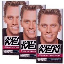 3 x Just For Men Shampoo In Hair Colour Multi Pack - Choose You Colour
