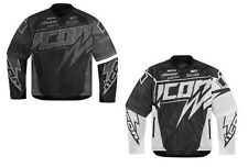 Icon Hooligan Spaztyk Fighter Mesh Motorcycle Riding Jacket w/ Zip-Off Sleeves