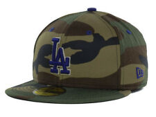 Official MLB Los Angeles Dodgers Camo Pop New Era 59FIFTY Fitted Hat