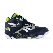 Reebok Pump Paydirt Mid (Navy/Silver/Green/White) Seahawks Men's Shoes SZ (8-14)