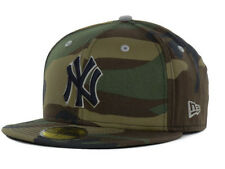 Official MLB New York Yankees Camo Pop New Era 59FIFTY Hat Fitted