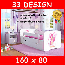 kinderbett 160 cm angebote auf waterige. Black Bedroom Furniture Sets. Home Design Ideas