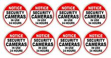 """VIDEO SURVEILLANCE STICKERS 10 PC Set (3"""") - Different Styles to Choose"""