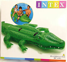 Intex Inflatable Gator / Crocodile Pool Float Ride-on Available in 2 Sizes