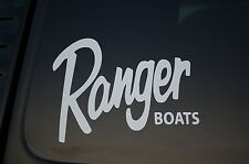 Ranger Boats Vinyl Sticker Decal (V184) Choose Color And Size!! Fish Fishing