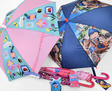 Childrens Character Umbrella. Moshi Monters Ben and Holly Furby Mike the Knight