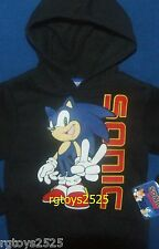Sonic The Hedgehog Pullover Hoodie Size 4-5 6-7 8 New Childs Sweatshirt XS S M