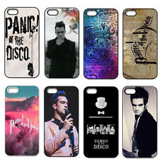 Panic At The Disco Case Hard Plastic Back Skin Cover For iPhone 4 4S 5 5G 5S 5C