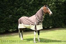LIGHT WEIGHT TURNOUT RUG FULL NECK COMBO NO FILL HORSE AND PONY SIZES AVAILABLE