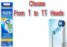 BRAUN ORAL-B Precision Clean  Replacement Heads Avalaible1,2,3,4,5,6,7,8,9,10,11