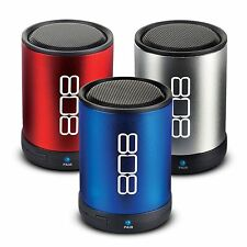 808 CANZ Portable Audio Technology Wireless Speaker - Various Colors New
