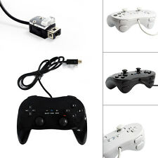 New Pro Classic Gamepad Joypad Game Remote Controller Pad For Nintendo Wii