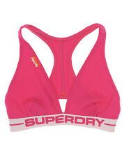 New Womens Superdry Womens Sports Bra Pink
