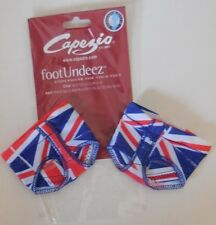 NEW CAPEZIO FOOTUNDEEZ Jelz MODERN LYRICAL Union Jack British Flag Foot Undeez
