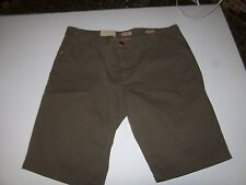 NEW HUGO BOSS khaki chino shorts olive green men sz 32 34 36 38 40 MSRP $85