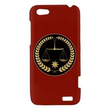 Justice in Balance Design - Hard Case for HTC Cell (30 Models) -OP4563