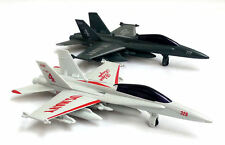 Toy Diecast US Airforce Blue Angels Military Jet Plane Airplane Sounds Light NEW