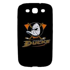 Anaheim Ducks Hockey - Hard Case for Samsung Cell or Tablet -QR5101
