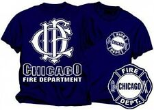 CHICAGO FIRE DEPARTMENT DUTY STYLE T-SHIRT Chicago Fire TV Show