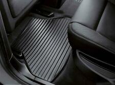 BMW All Weather Floor Mats X5 Rubber Floor Mats OEM Fits 2007-2013 X5 ALL
