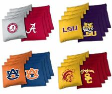 Choose Your NCAA Team Tailgate Toss XL Platinum 16oz. Bean Bag Set - 8 Bag Set