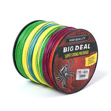 Strong Quality Outdoor PE Dyneema Spectra Braid Fishing Line 100-1000M 3 Colors