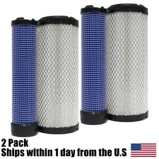 Inner Outer Air Filter Cleaner Kohler Toro Bobcat Kubota  Deere Bobcat Exmark