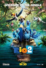 RIO 2 MOVIE ART POSTER A4 / A3 R201- BUY 2 GET 1 FREE(ANY DESIGN)