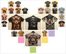 2014 Mens Womens 3D Animal Cat Tiger Leopard Floral Figure Tee Round Top T-Shirt