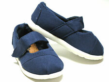 New Oxford Velcro Style Baby Toddler  Girls Canvas Shoes Size 5 6 7 8 9 10