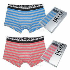 Hugo Boss Men's Underwear Innovation Cotton Blend Jersey Striped Boxer Brief