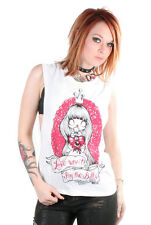 New Breed Girl Love Dont Pay The Bills Tank Punk Rock Open Back