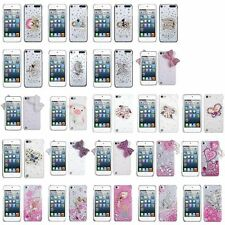 Color Design 3D Diamond Bling Cute Hard Case Cover For iPod Touch 5 5th Gen 5G