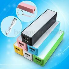Portable Power Bank External Backup Battery Charger W/ Key Chain USB Cable