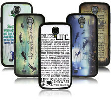Peter Pan Quotes desgin case for SAMSUNG GALAXY S4 S IV i9500 PC+TPU A0118