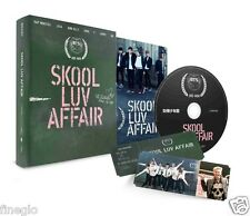 BTS - SKOOL LUV AFFAIR (2nd Mini Album) CD+Booklet+Photocard Korean k-pop songs