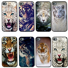 The Tiger Retro Hard Snap On Plastic Back Case Cover For iPhone 4 4S 5 5S 5C