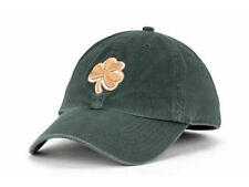Notre Dame Fighting Irish NCAA Gold Clover Green Franchise Hat Cap University ND