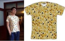 Funny Popular Doge Wow Such Face Much Meme DOG Reddit Summer TEE TOPS T SHIRT